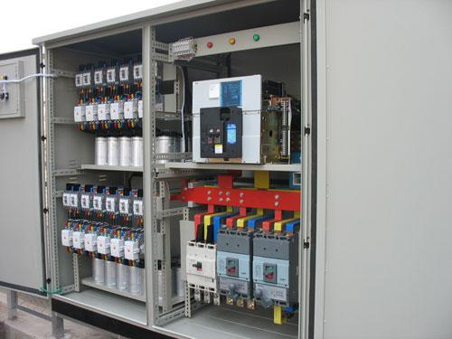 Hình ảnh tủ điện chuyển đổi nguồn